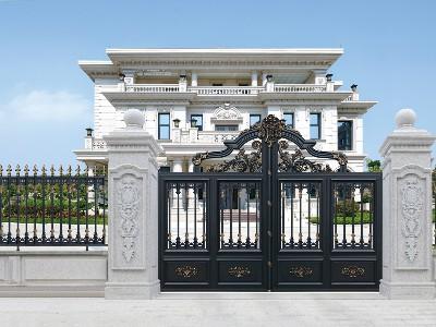 为什么越来越多人定铝艺别墅门尺寸喜欢用鲁班尺?