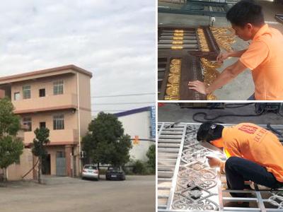 汉仁铝艺生产环境