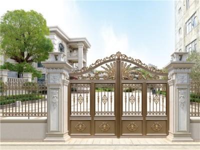 铝艺别墅大门安装需要注意些什么?