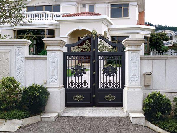 豪宅铝艺庭院大门