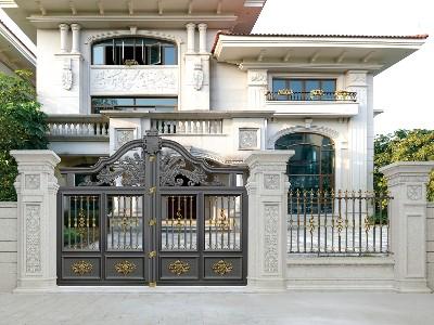 铝艺的别墅大门满足了很多消费都的需求