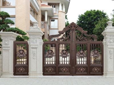 """从""""价格""""到""""价值""""汉仁铝艺如何做别墅大门的布局?"""