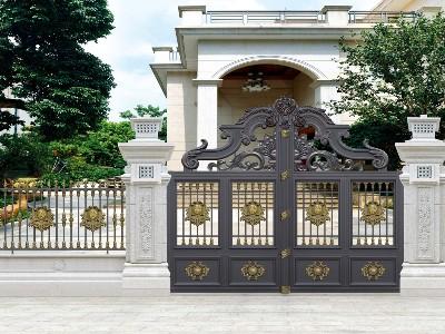 别墅大门用什么材质 每种材质都有哪些特点?