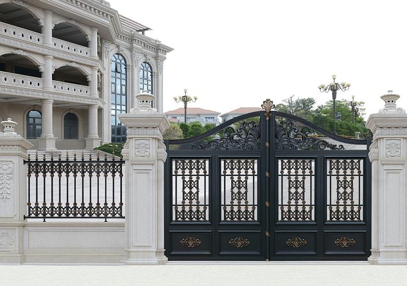 别墅大门用什么材质