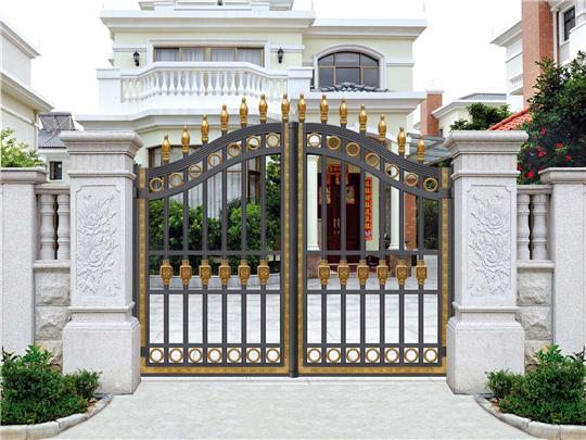 别墅花园入户门