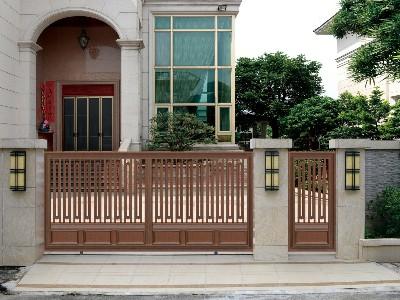 汉仁铝艺的别墅大门为你打造一个崭新的生活环境