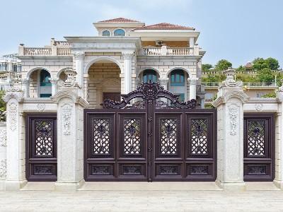 铝艺庭院大门,4个方法轻松选到逞心如意的款式