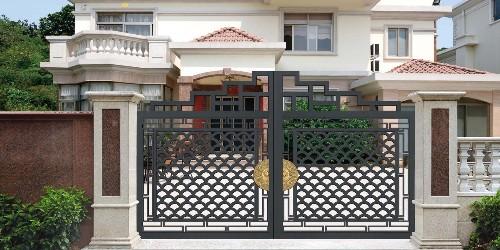 别墅大门是精致又奢华!它的品质改变你的生活!