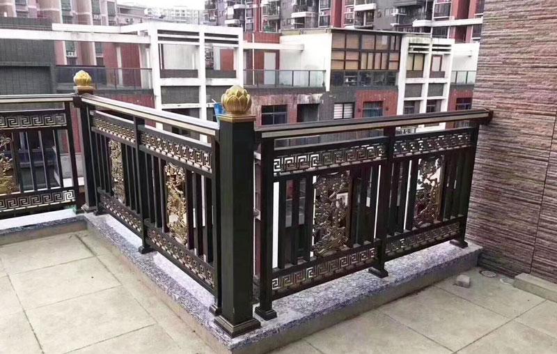 碧桂园-铝艺庭院门、铝艺围栏案例