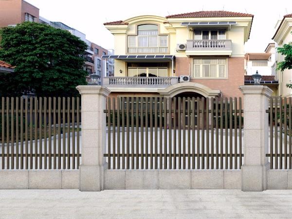 中式简约铝艺围栏