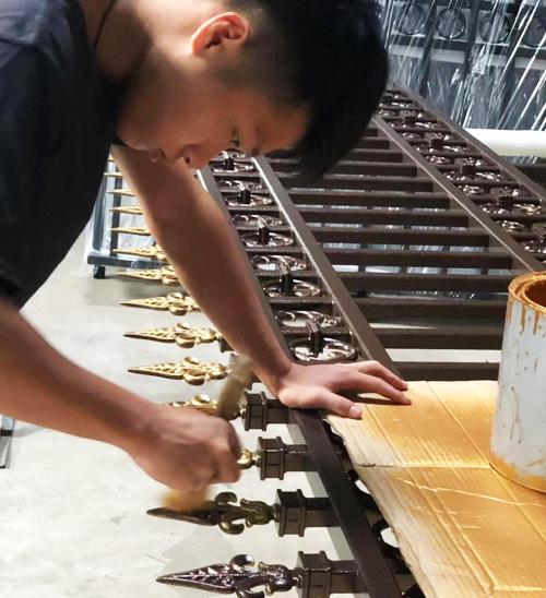 汉仁铝艺门制作工艺
