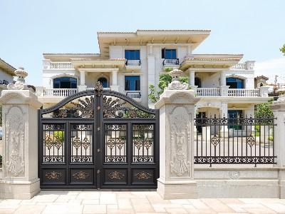 别墅大门如何做到实用和时尚共存?