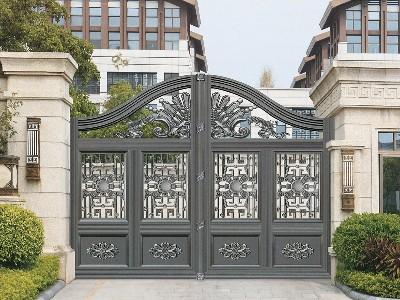 铝艺别墅门为什么比普通大门价格高?