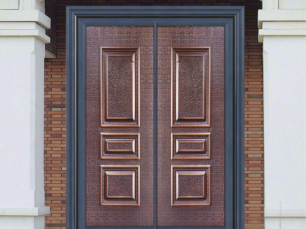庭院入户防爆铸铝门
