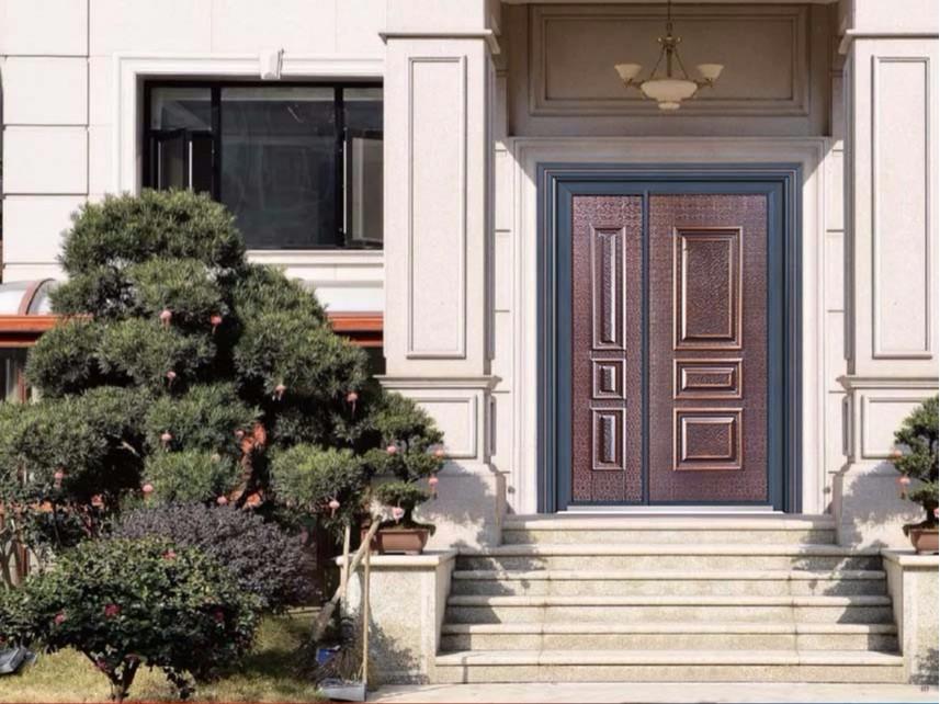 庭院入户铸铝防爆门