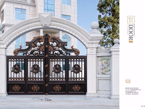 欧式庭院大门 铝艺别墅大门
