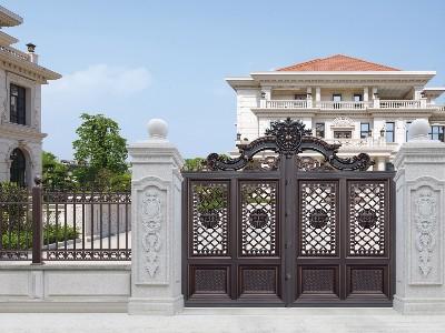 怎么鉴定别墅大门的铝艺装饰材质特性?
