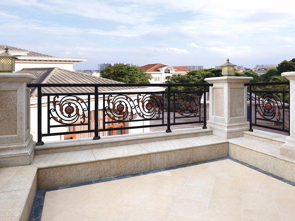 定制欧式阳台铝合金护栏