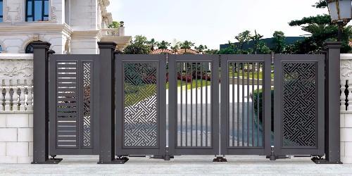 别墅大门类型很多,为什么铝艺大门可以脱颖而出让客户选购?