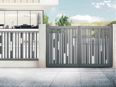 现代铝艺庭院大门关键时刻顶上作用!