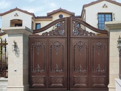什么别墅大门材质好一点 铝艺铁艺和不锈钢该怎么选?