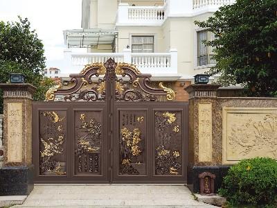 铝艺别墅门的诞生为何人们带来的生活韵味?