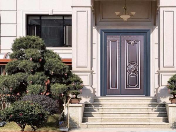 自建房防爆铸铝门