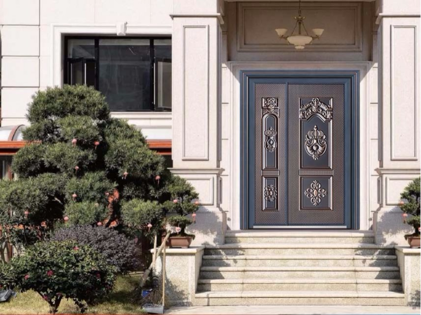 防爆铸铝门别墅大门