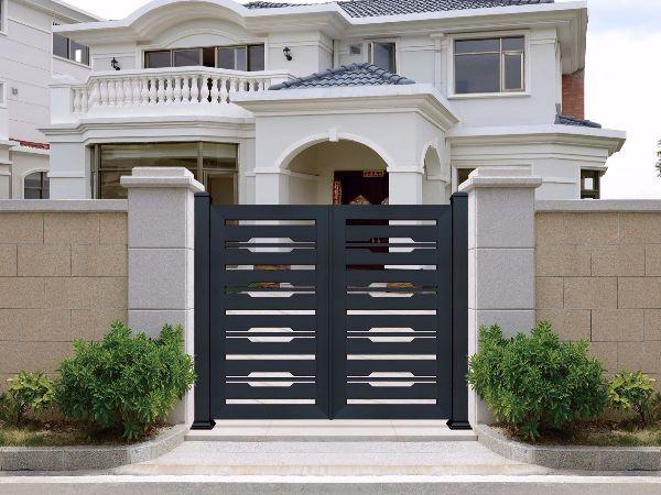 中式铝艺别墅门