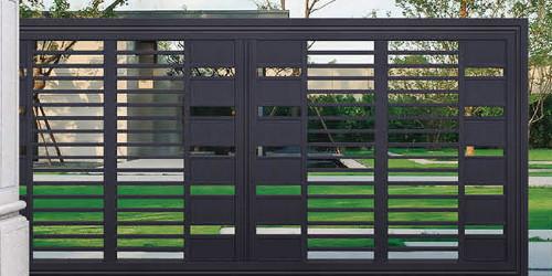 怎样区分铝艺庭院大门是喷漆还是烤漆