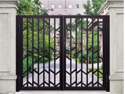 铝艺别墅门,提升整体家装效果