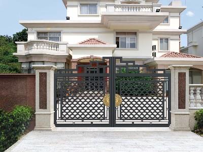 别墅大门配件保养可以增加大门的使用寿命