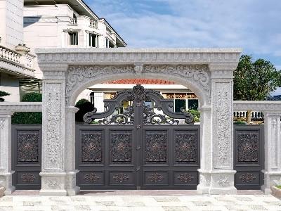 铝艺别墅门的风格有哪些特色