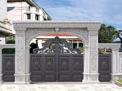 你信不信只需6步即可轻松安装好铝艺别墅门?