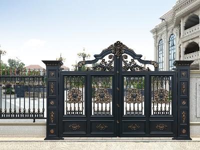 铝艺庭院大门的价格贵吗?看一下它的工艺你就明白了