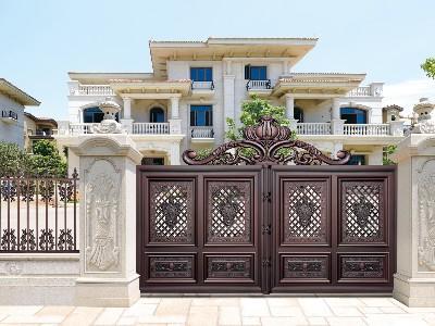安装了这样的别墅大门,业主现在哭也来不及了!