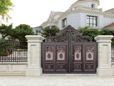 别墅专属的铝艺别墅门,该是什么样子的呢?