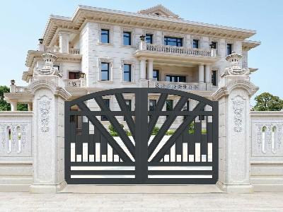 铝艺庭院大门的价格比质量更重要吗?