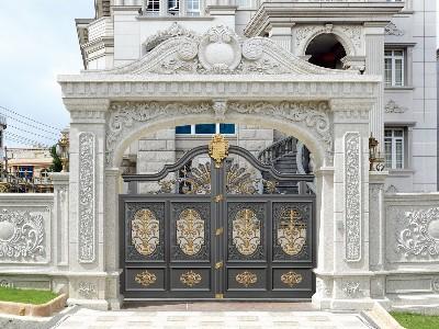 别墅大门的门洞尺寸该预留多大?