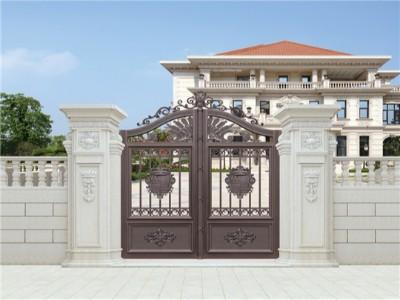 铝艺庭院大门怎么防止生锈