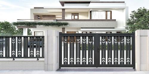 铝艺庭院大门|用简洁的线条,让你在不经意间一见倾心