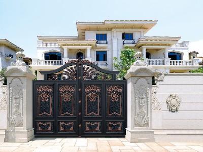 铝艺庭院大门的表面颜色都有哪些好看而且价格实惠